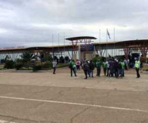 Photos: Super Eagles Arrive Swaziland Ahead Of Their Match Today
